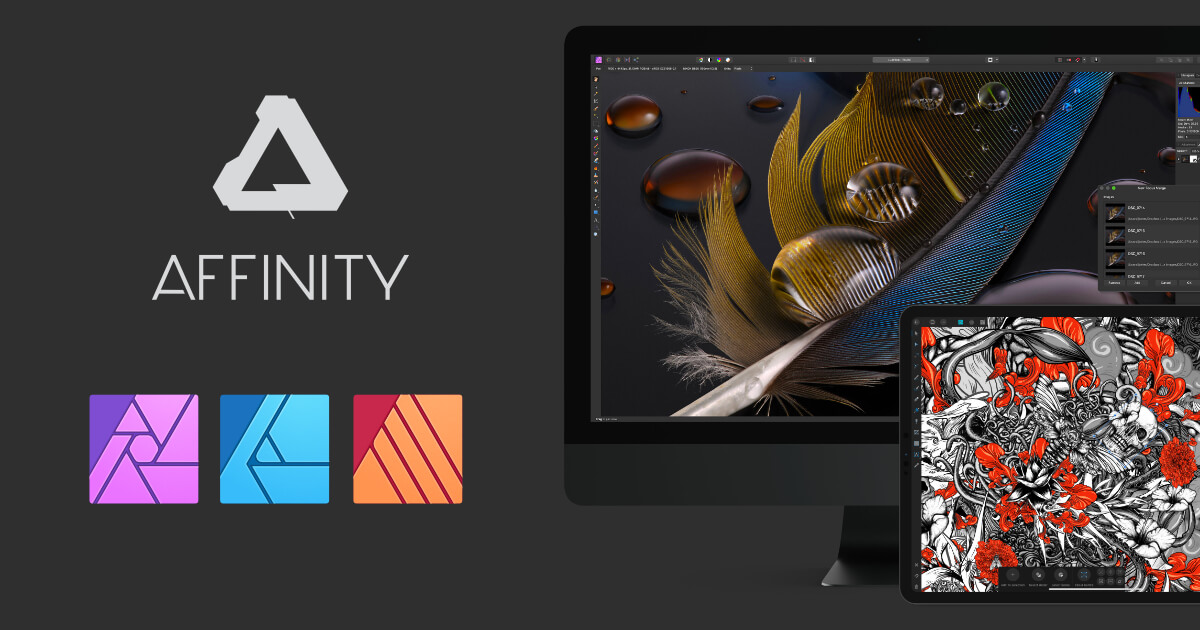 【L28】Affinity 软件套装Affinity Photo 、Affinity Designer、Affinity Publisher