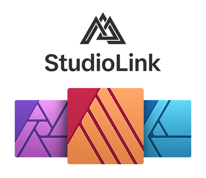Die Kernfunktionen von Affinity Designer und Affinity Photo sind mit einem simplen Klick auf das entsprechende Persona-Symbol oben in der App verfügbar.
